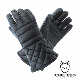 SF Leather Padded Fencing Gloves-GLV1101