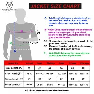 Jacket Size Chart